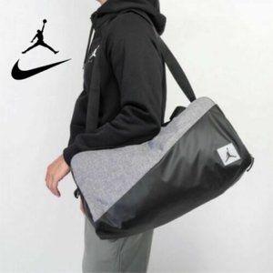 Nike Jordan Pivot Duffel Gym Travel Bag - Black